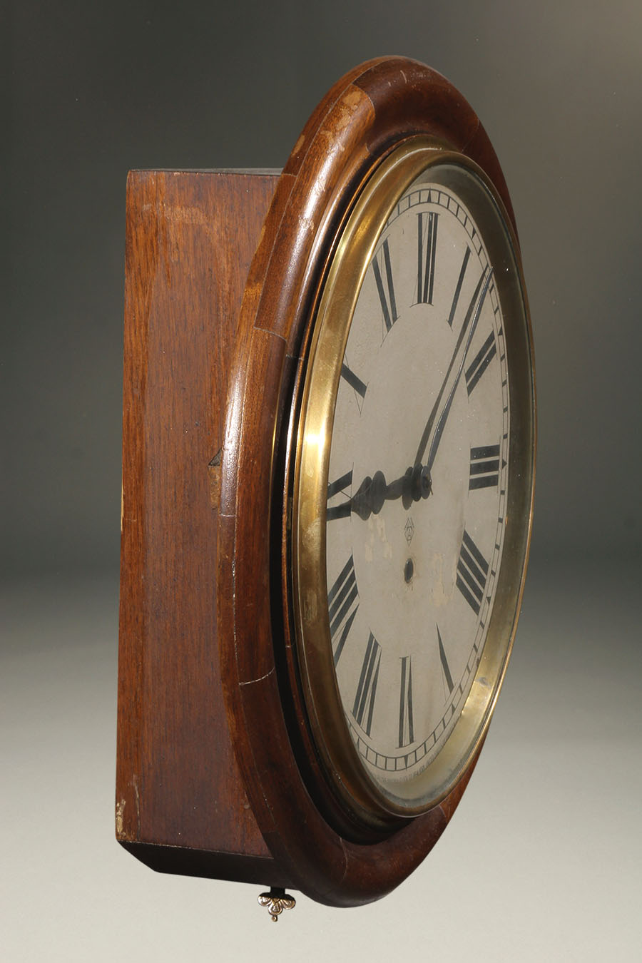Antique Ansonia Gallery Clock With An 8 Day Movement And