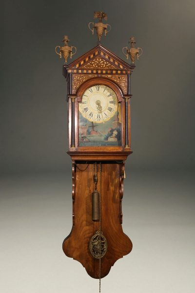 A5643A-dutch-antique-clock-staartklok-wall