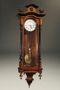 Late 19th century Austrian Vienna regulator
