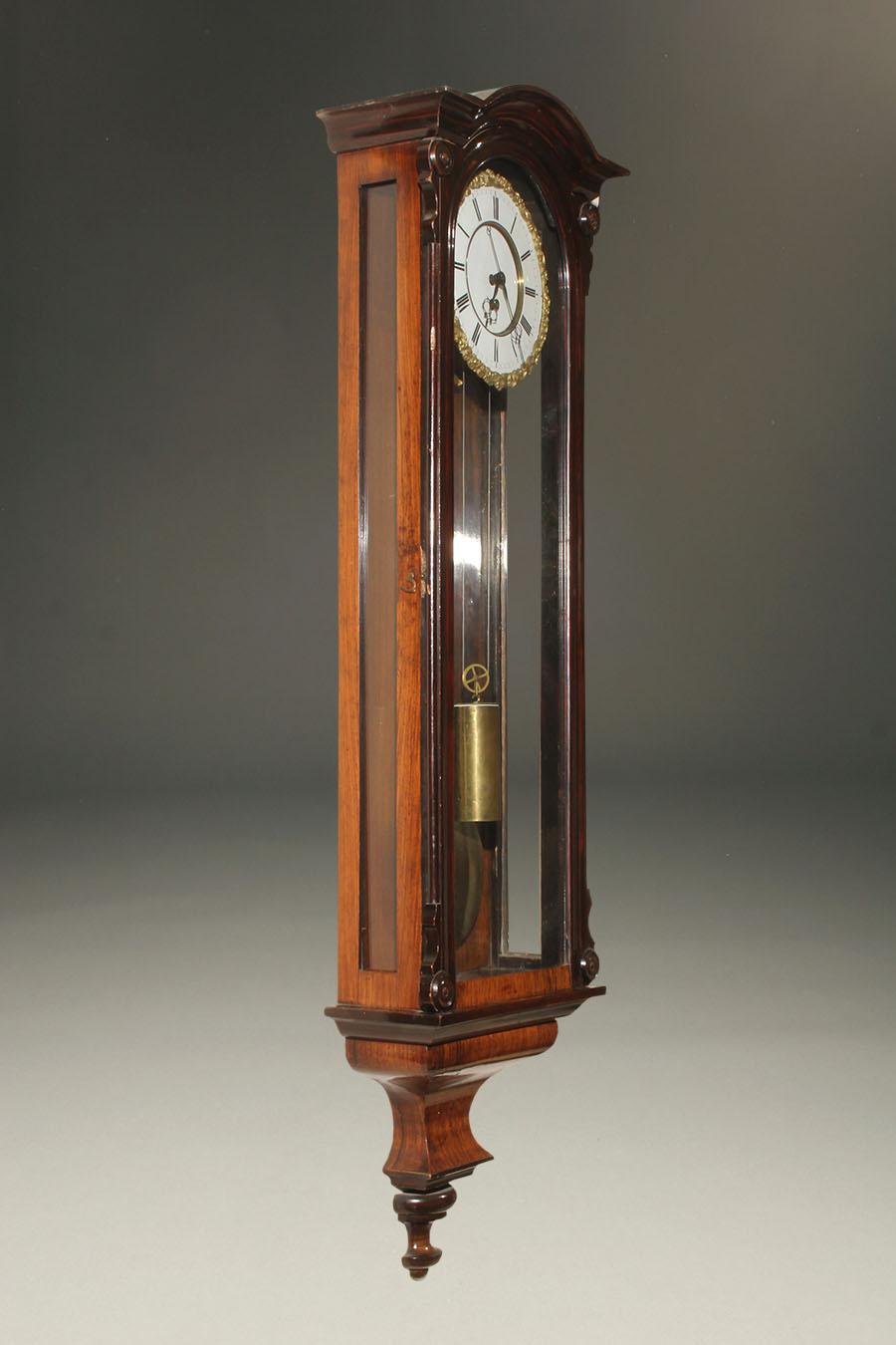 Antique Biedermeier Style Vienna Regulator
