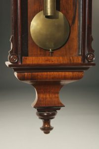 Mid 19th century Biedermeier style Vienna regulator.