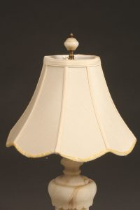 Very nice alabaster table lamp